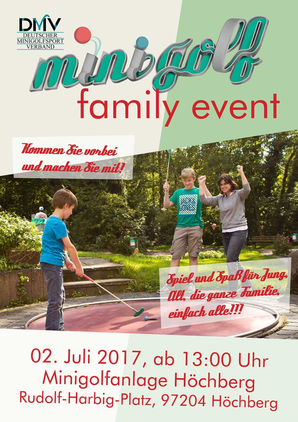 "2. Marktmeisterschaft / ""Minigolf Family Event"""